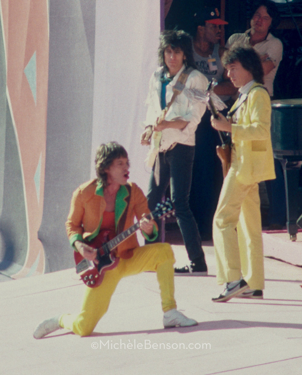 Rolling Stones Mick Jagger Ron Wood Bill Wyman Candlestick-Park IMG-01_004
