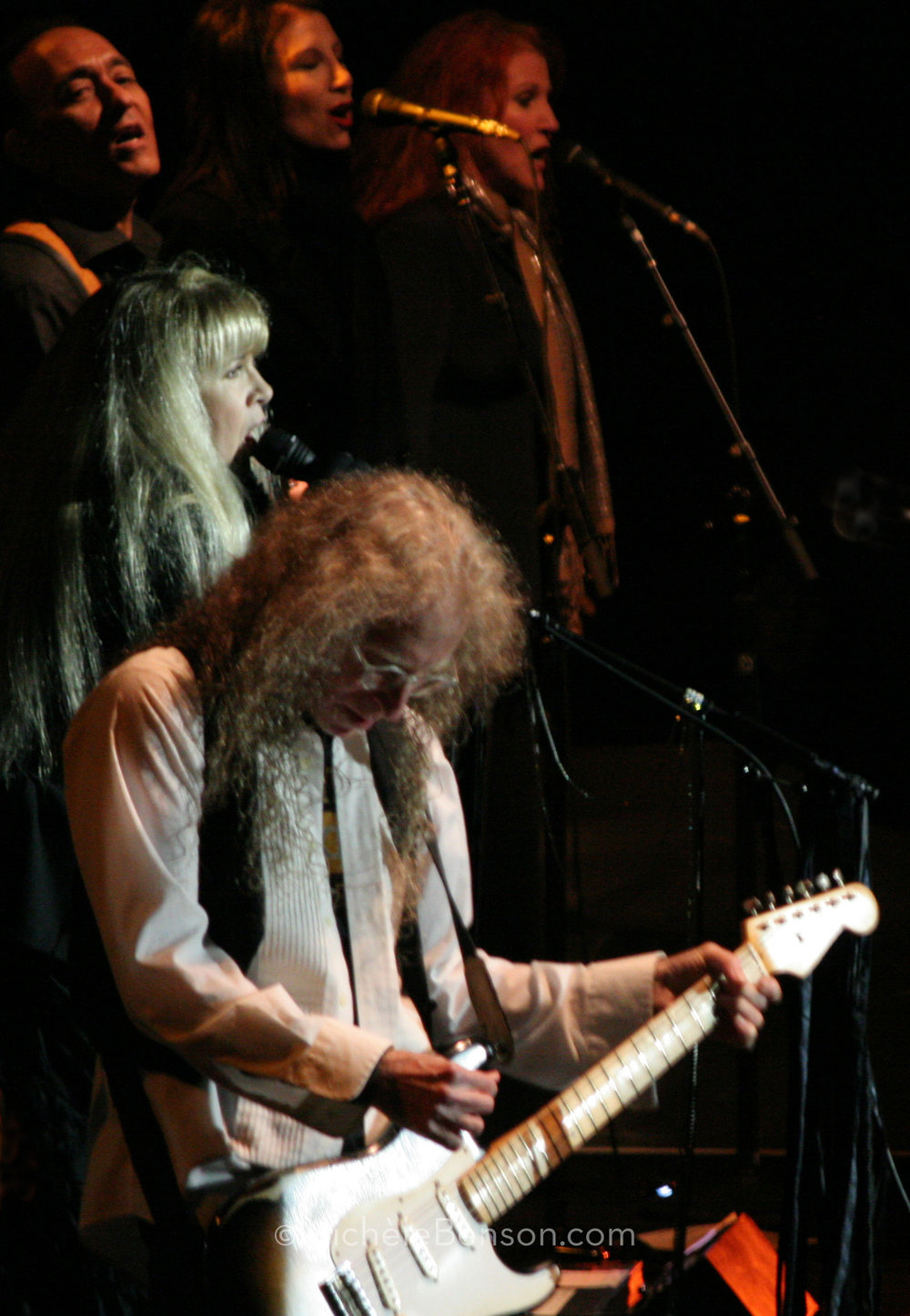 Stevie Nicks and Waddy Wachtel and Girls