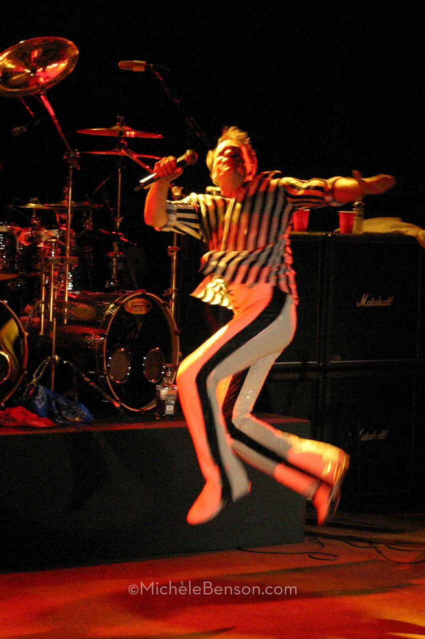 David Lee Roth of Van Halen the Catalyst