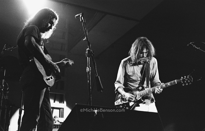 Neil Young and Jeff Blackburn The Ducks Catalyst-spring-1976