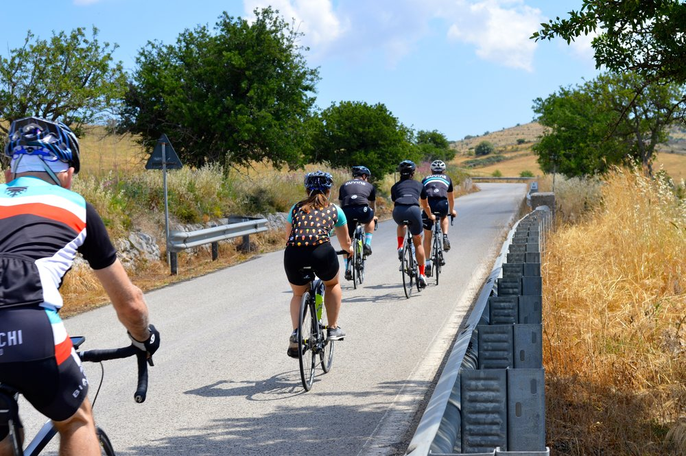 Cycling through Sicily on Duvine's Chef On Wheels Bike Tour with Seamus Mullen