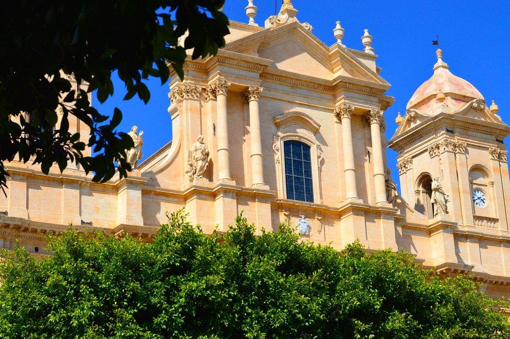 Building facade in Sicily
