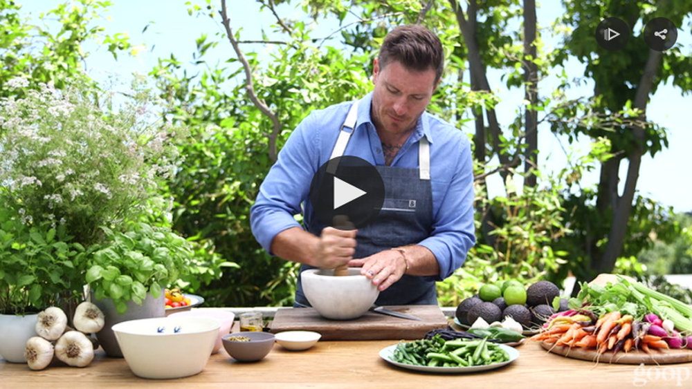 Goop - Two ways to cook with avocado video
