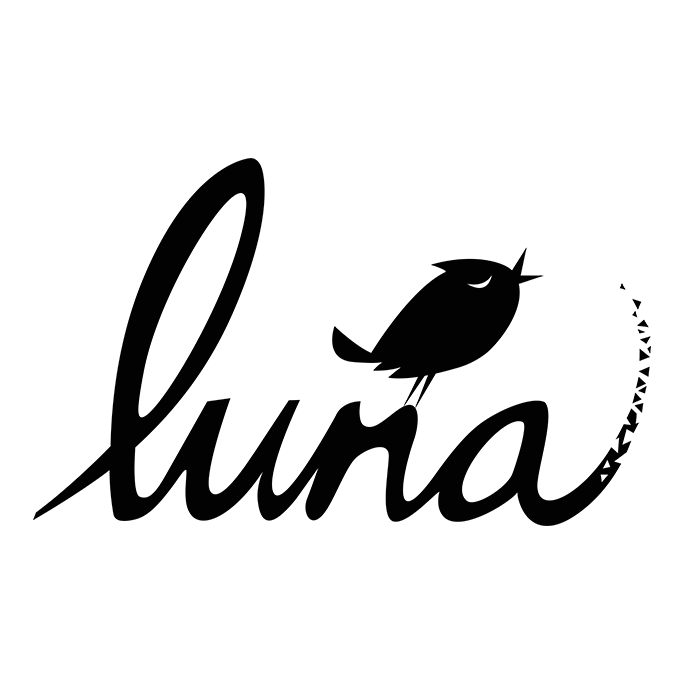Luna (Black on White)