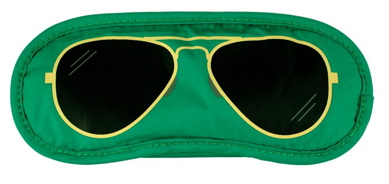 Aviator Eye Mask An aviator sleep mask($16) will ensure that you get some much-needed (and stylish) shut-eye during your travels.