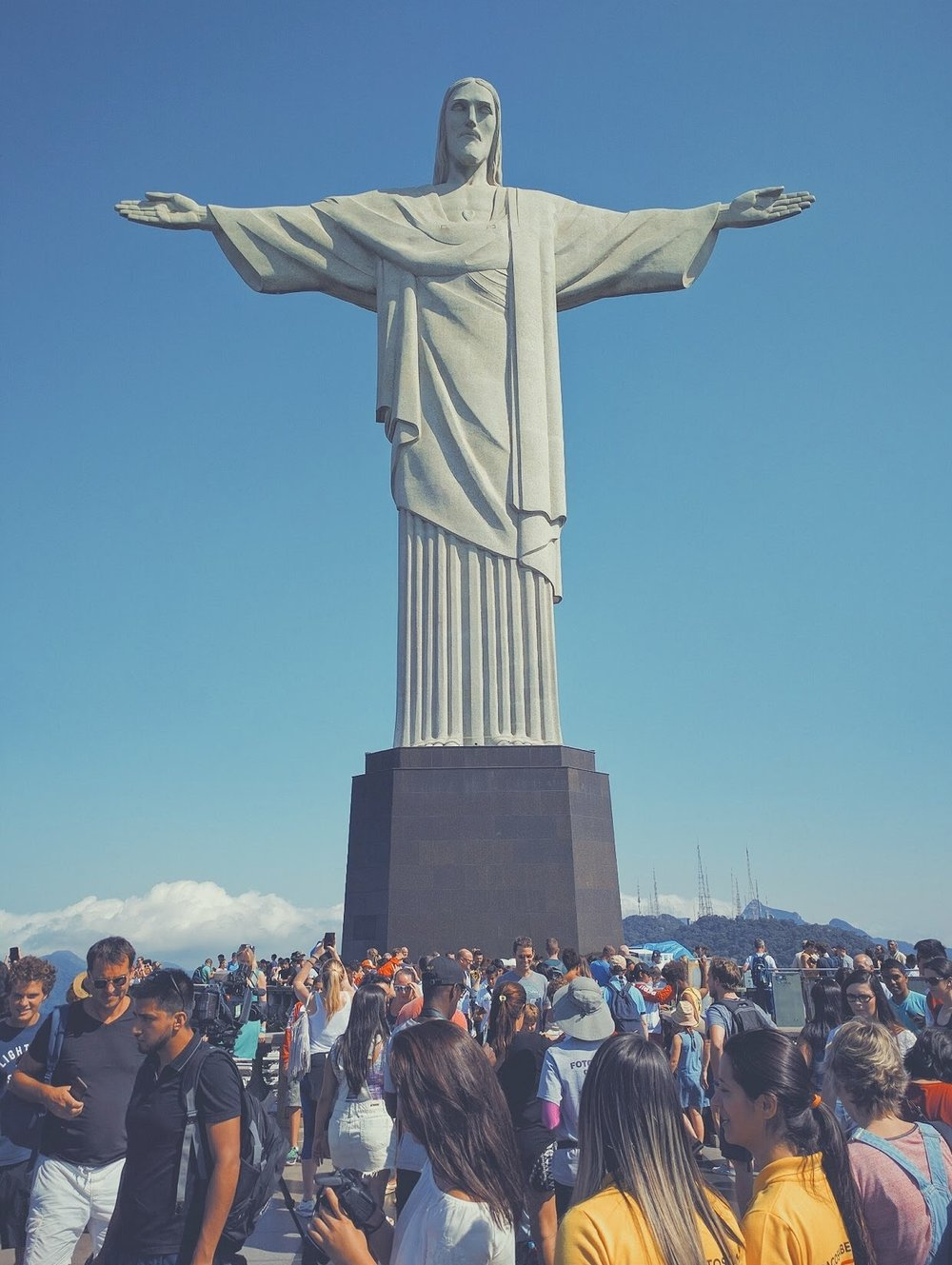 christ the redeemer in 2016.