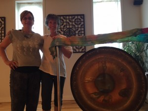 Kathy and Amy at Sacred Feminine Workshop