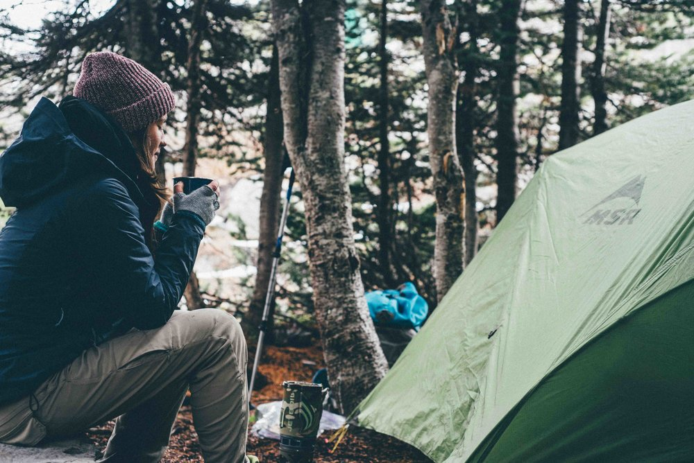 Camping for millennials