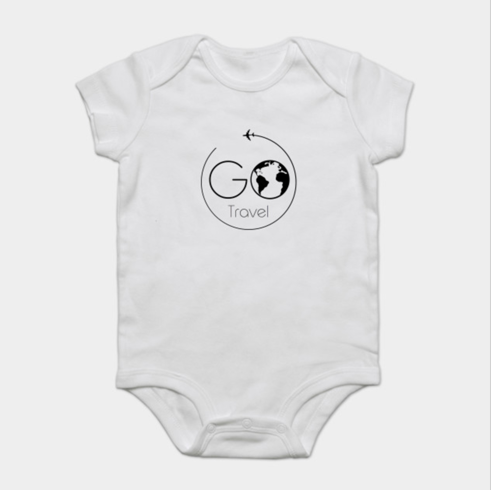 Go Travel Baby Onesie