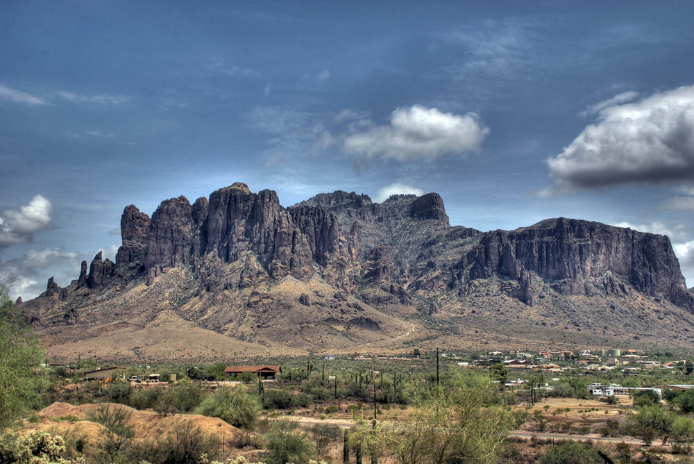 Superstitious Mountains