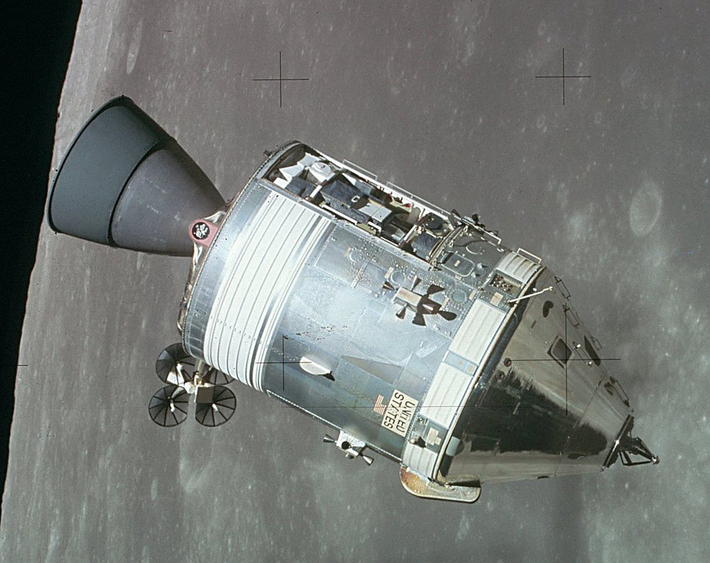 An Apollo Command Module