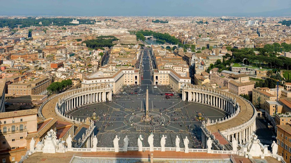 The Vatican City  (photo by  Diliff  via   Wikimedia)