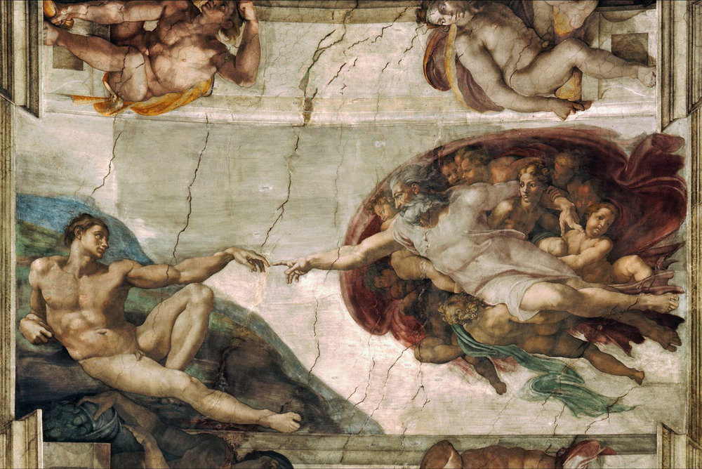 Creation of Adam Michelangelo