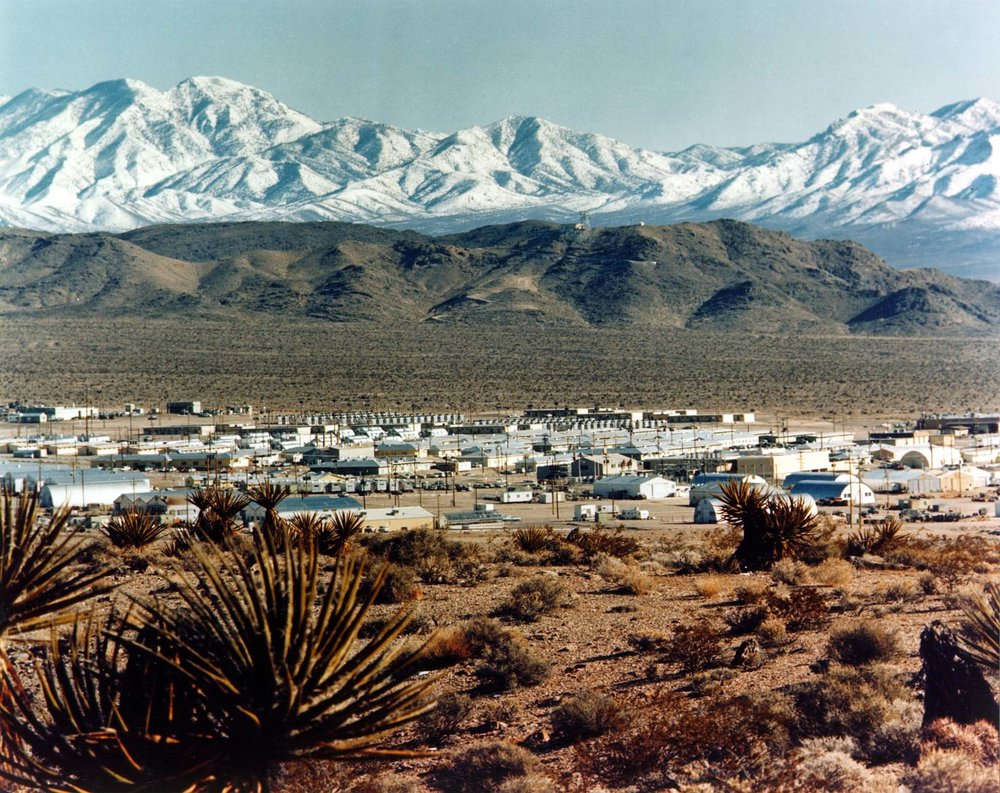 Government provided photo of Mercury, Nevada.