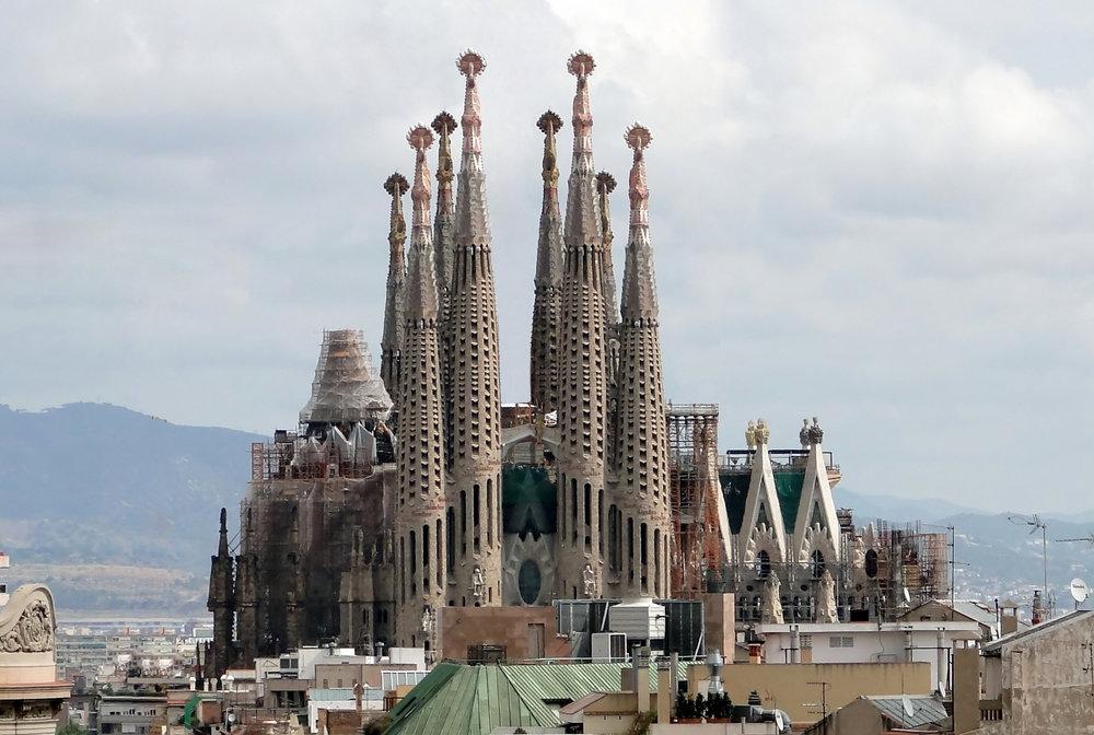 Basilica of the Sagrada Familia ( Photo by  Bernard Gagnon )