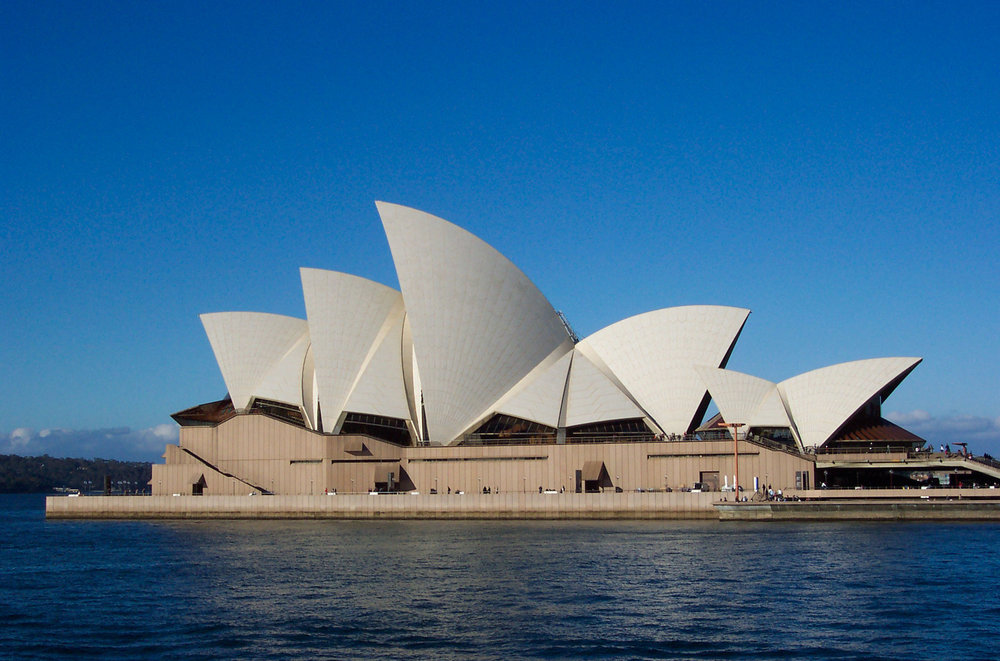 The Sydney Opera House, a cultural hot spot Down Under. (Photo by Unknown / CC BY-SA 3.0)