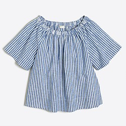 1. J. Crew Factory Striped Top