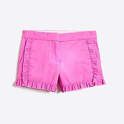 2. J. Crew Factory Ruffled Shorts