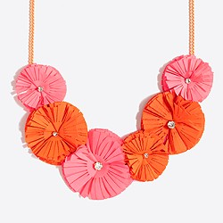 5. J. Crew Flower Necklace