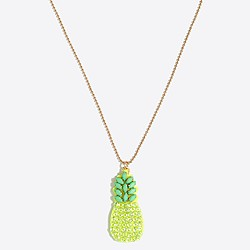 6. J Crew Factory Pineapple Necklace