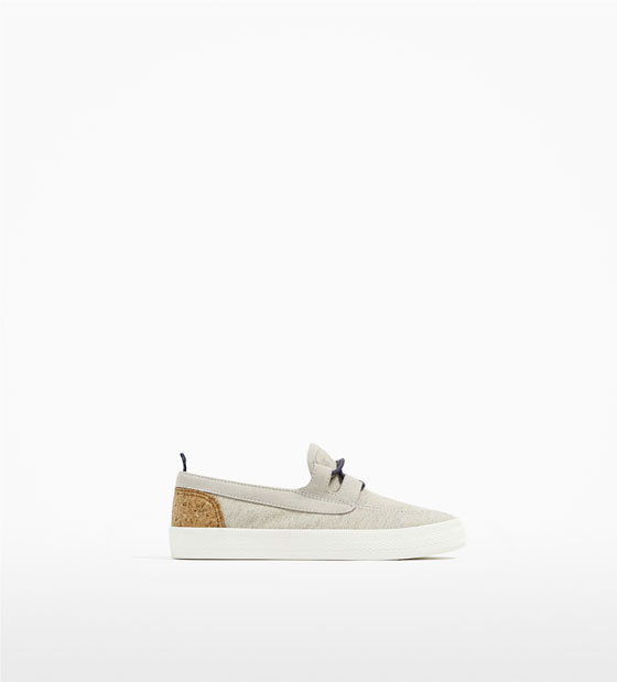 10. Zara Boys Docksiders