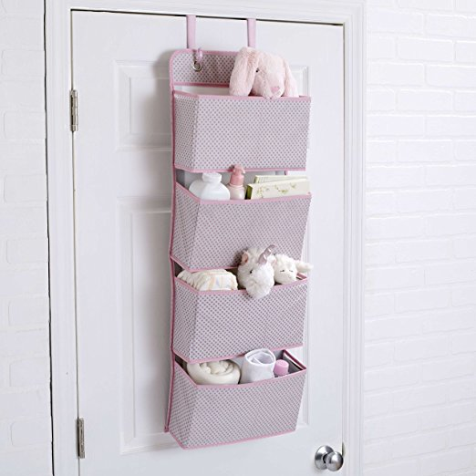 Delta Children 4-Pocket Hanging Wall Organizer $7.99