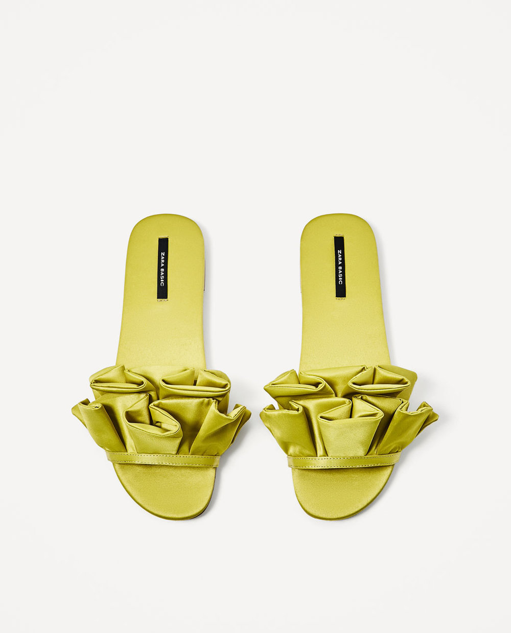 Zara Frilled Slides