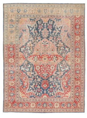 "ABC Home- Sabideh Vintage Wool Rug 9'1""x12' $12,000"