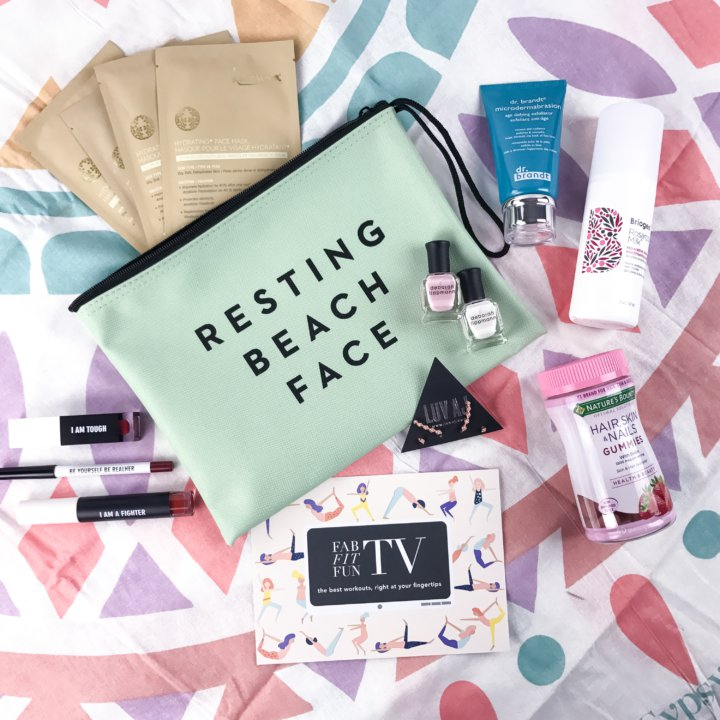 Fab Fit Fun Spring 2017 Box