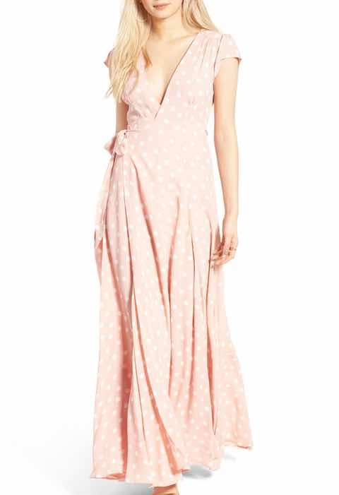Tularosa Wrap Maxi Dress