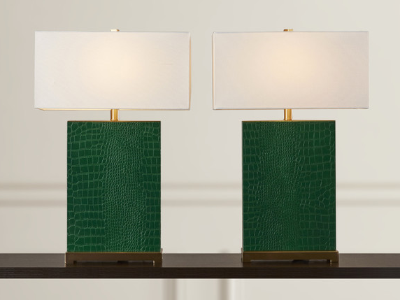 Joss & Main- Nicolette Table Lamp in Green $142.99