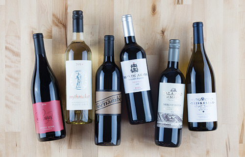 Williams Sonoma Wine Club (starting at $90/month)