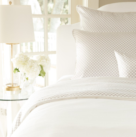 White Bedding by Crane & Canopy