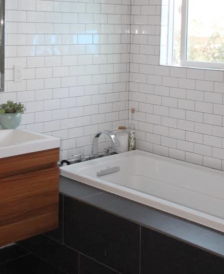 Collective Co-op A Modern Master Bathroom M&C Collective Blog ...