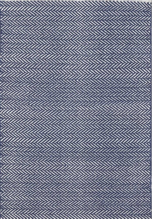 Dash & Albert Herringbone Indigo