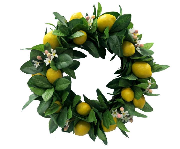 Lemon Wreath- Target $24.99