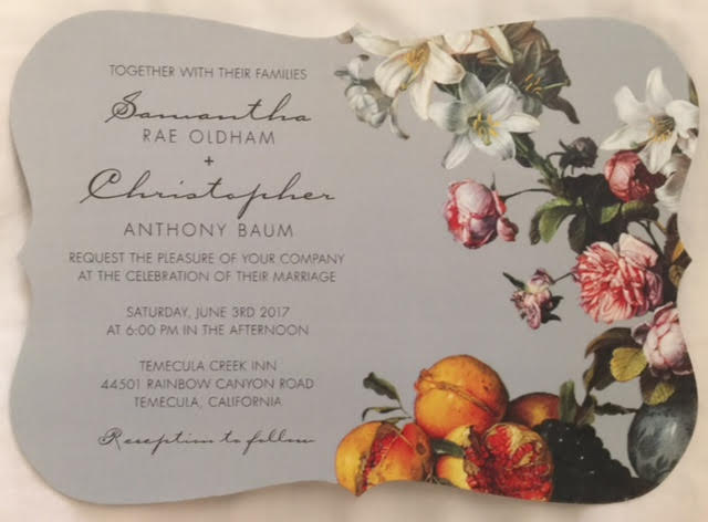AN INVITATION TO SET THE MOOD