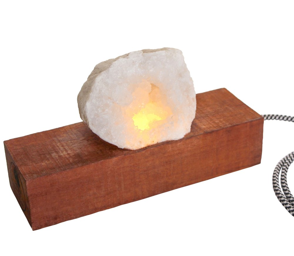 Indie Republic Design: Solo Geode Chunk Light