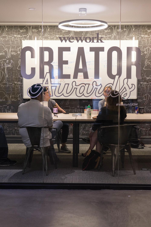 creator awards wework
