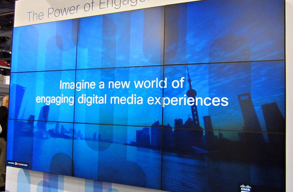 digital event signage