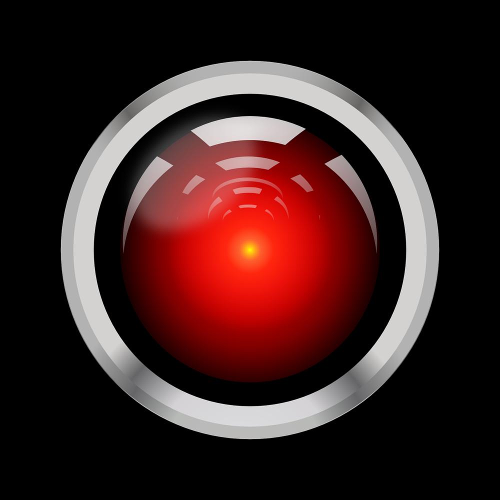 """I am the H.A.L 9000. You may call me Hal. . ."" 2001, A Space Odyssey, Stanley Kubrick."
