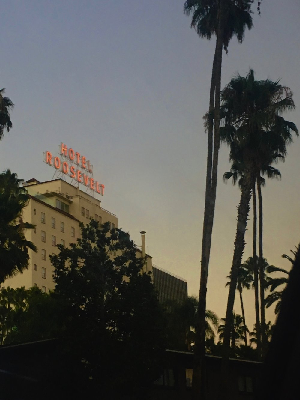 The Hollywood Roosevelt (photo by Meghan Ianiro)