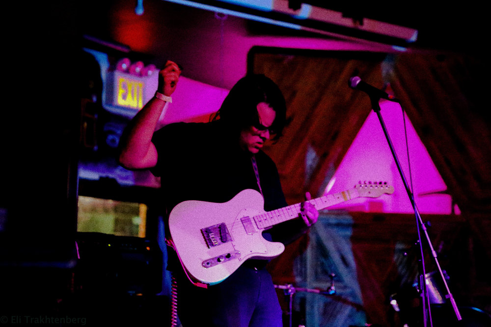 Alex Mercuri  (Guitar/Vox) of Sailor Boyfriend  | Photo Credit : Eli Trakhtenberg