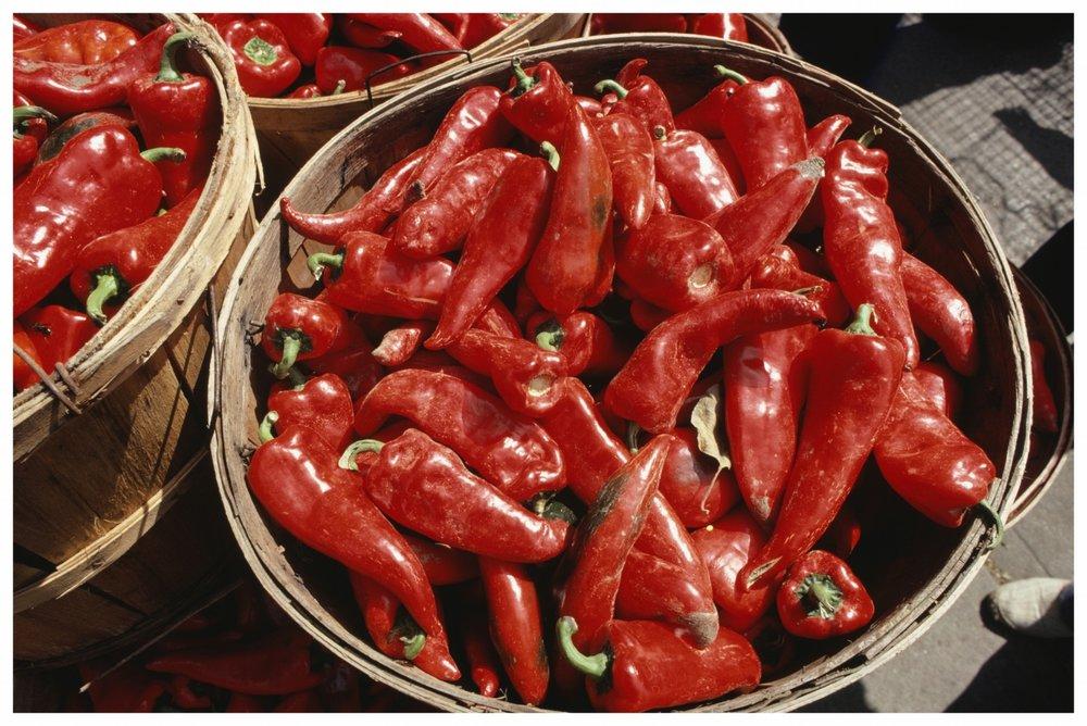 Farm Fresh Peppers -