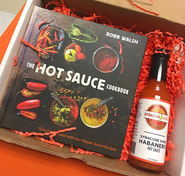 This Holiday give the gift of heat and local flavor. We have gift sets starting under $20.00. Hit up our web site www.syrachacuse.com for an event near you #keepitlocal #keepithot #holidaygifts