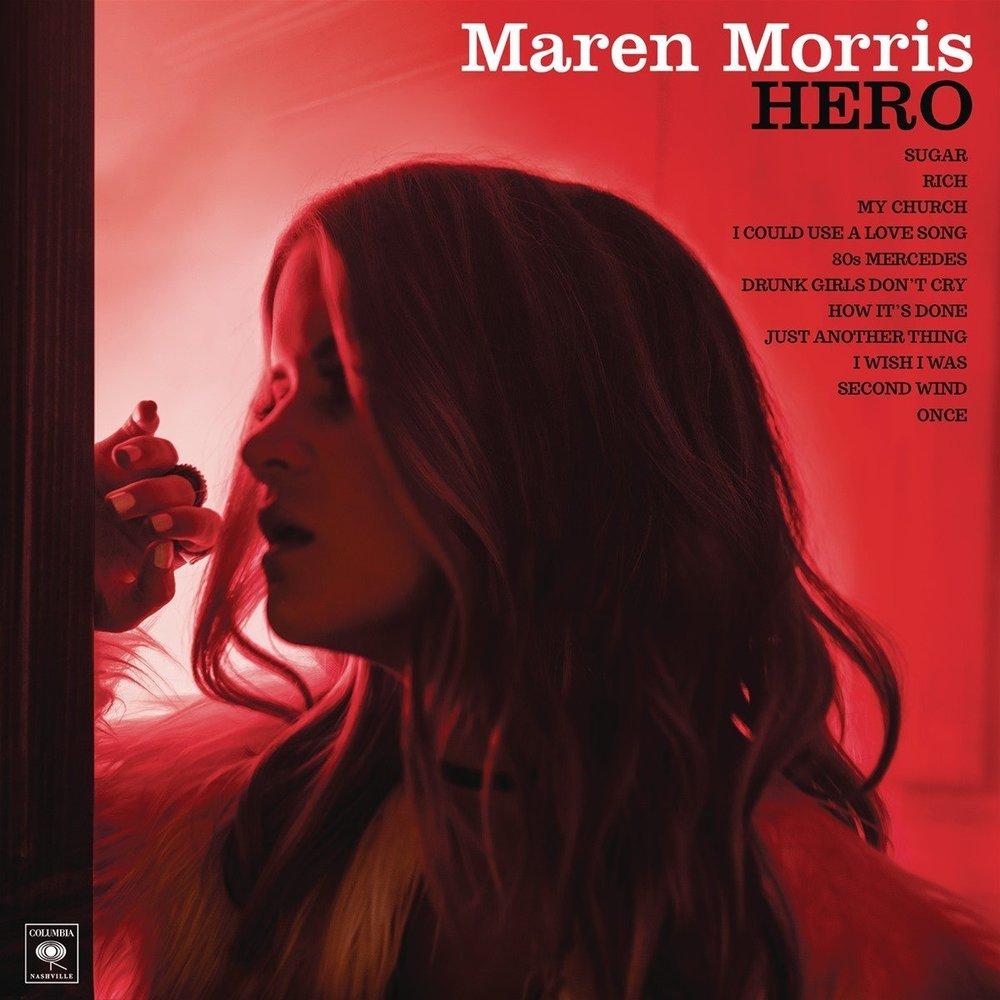 """MAREN MORRIS """"HERO"""" ALBUM COVER"""