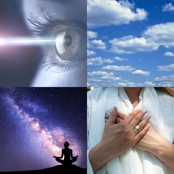 The 4 styles of NeuroMeditation are Focus, Mindfulness, Quiet Mind, and Open Heart.