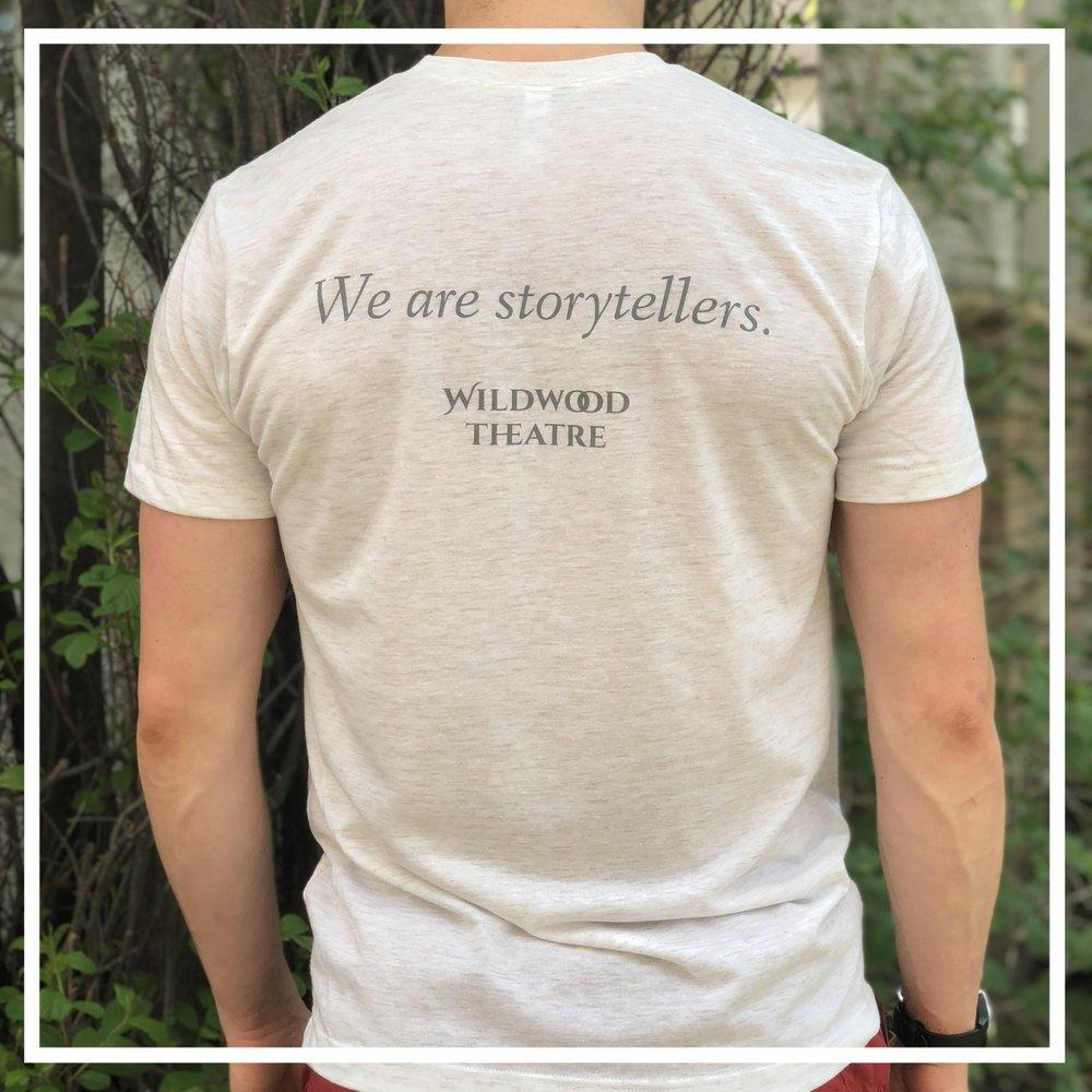Storytellers tee - Unisex Tee$25.00—$30.50
