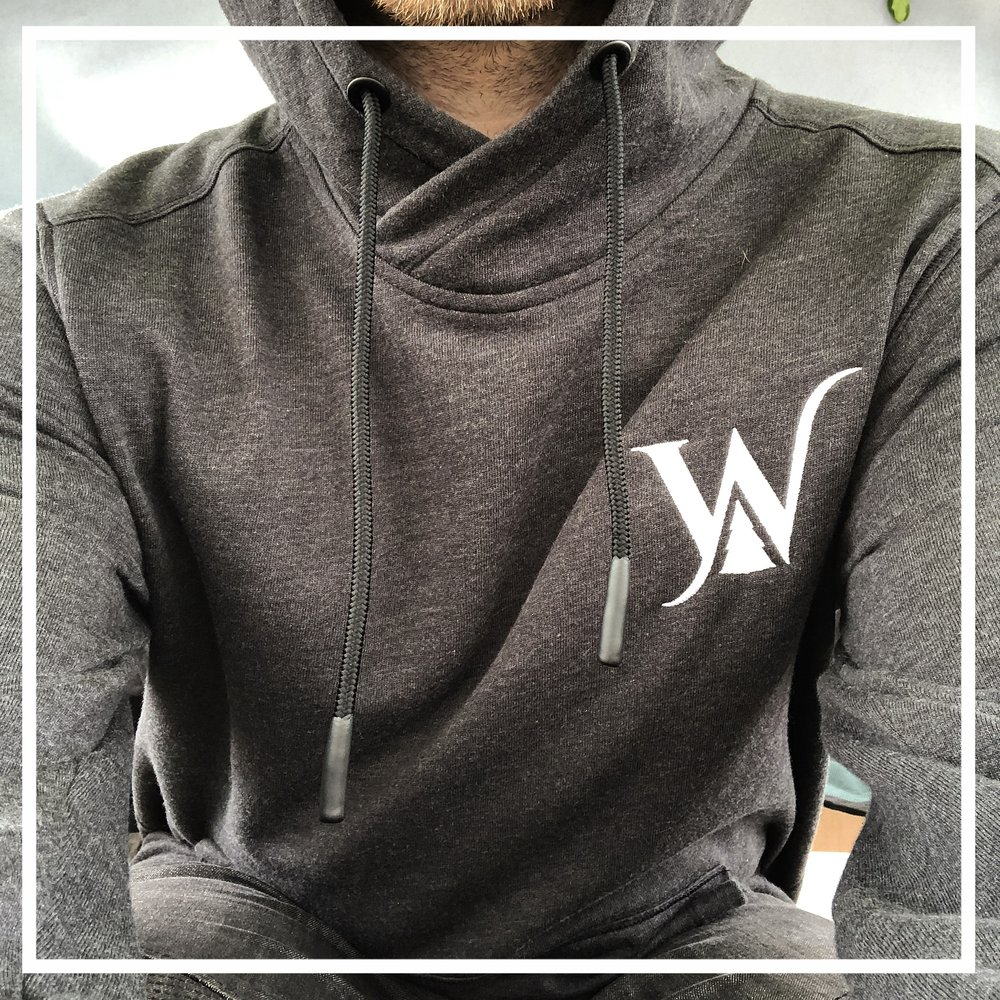 Pullovers - Cross Neck Pullover Hoodies$70