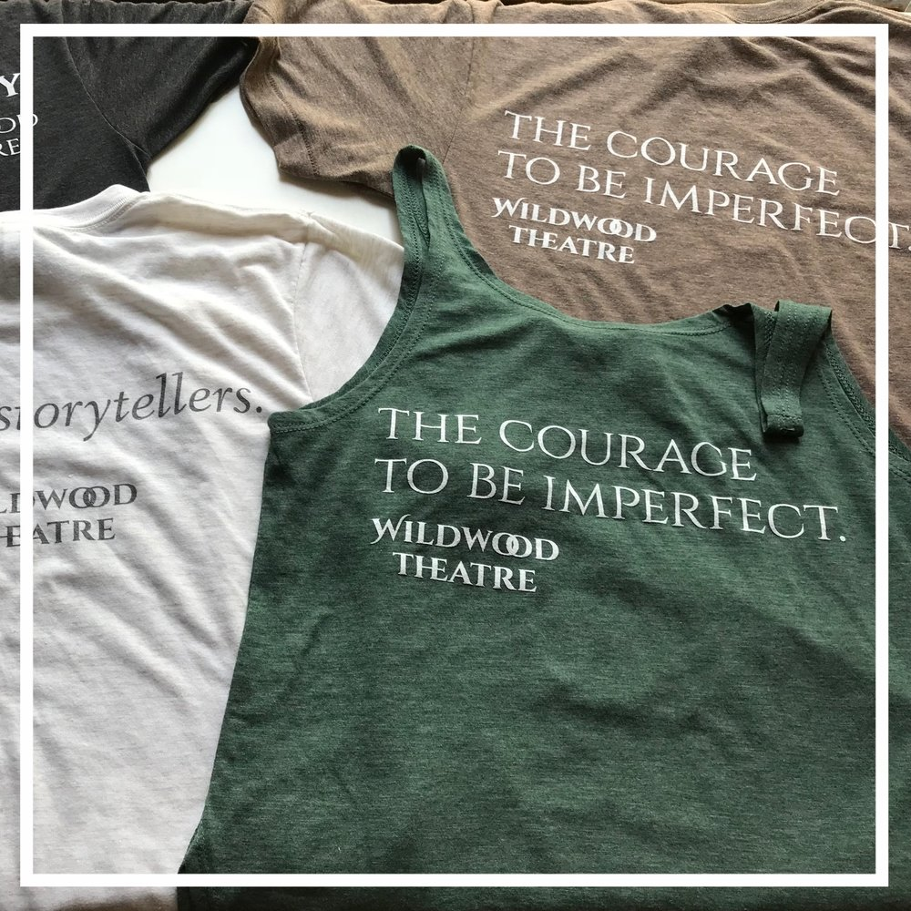 Wildwood Finery will be available - Wildwood Finery is clothing designed to remind ourselves to live empathetically and courageously by being curious, having difficult conversations, and treating others with patience. By wearing these messages, you'll encourage others to do the same.